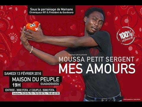 Moussa petit sergent dans MES AMOURS