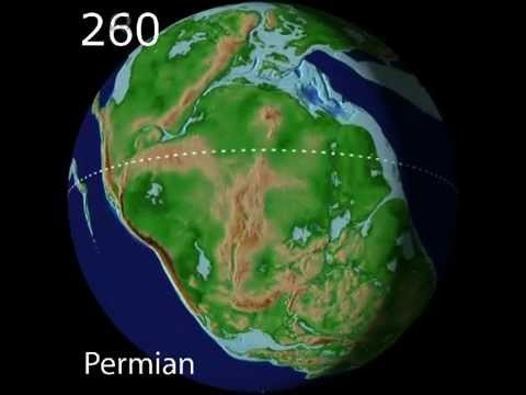 Plate Tectonics & Paleogeography as Viewed from Space - Scotese Animation
