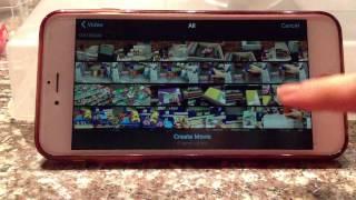 45.  Снимать, монтировать и выкладывать на YouTube видио с iMovie, iPhone.  Вышивка крестиком
