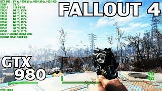 Fallout 4 ▶️ PC MAX Settings TAA | GTX 980 & i7 4790K