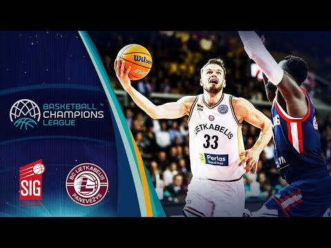 Sig Strasbourg V Lietkabelis – Highlights – Basketball Champions League 2019-20