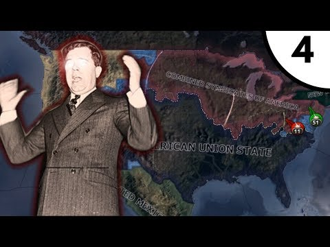 The Western Campaign [Hearts Of Iron IV: Kaiserreich 0.8: American Union State] Ep. 4