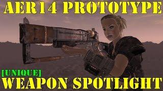 Fallout New Vegas: Weapon Spotlights: AER14 Prototype