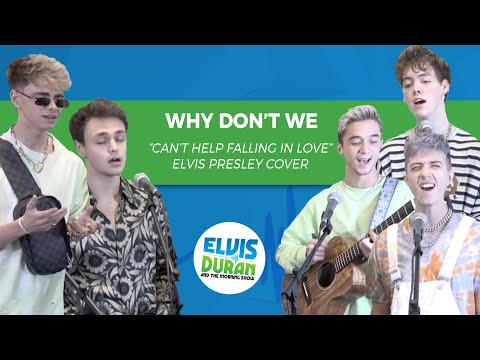 "Why Don't We - ""Can't Help Falling In Love"" Elvis Presley Acoustic Cover 