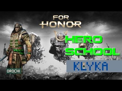 For Honor Hero School - Orochi lesson with LKHero