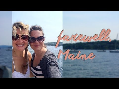Maine and Boston Travel: The End of our BFF Girls' Trip