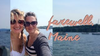 Maine and Boston Travel The End of our BFF Girls' Trip