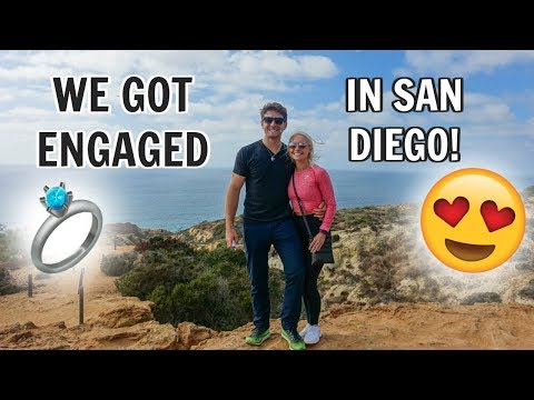OUR ENGAGEMENT STORY!! | San Diego, California Vlog