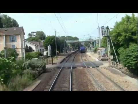 [Cab Ride] De Paris-Saint-Lazare à Caen en cabine de la 26014.  Partie 1