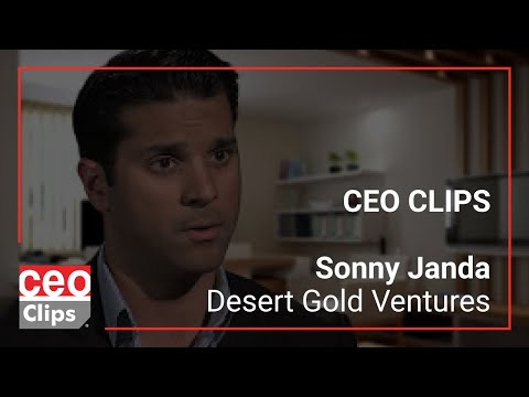 CEO Clips: Sonny Janda   Desert Gold Ventures   Gold Potential In Mali And Rwanda