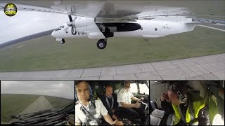 MUST SEE! Unique Outside and Cockpit Cams show rare Antonov 26 Takeoff of Air Urga! [AirClips]