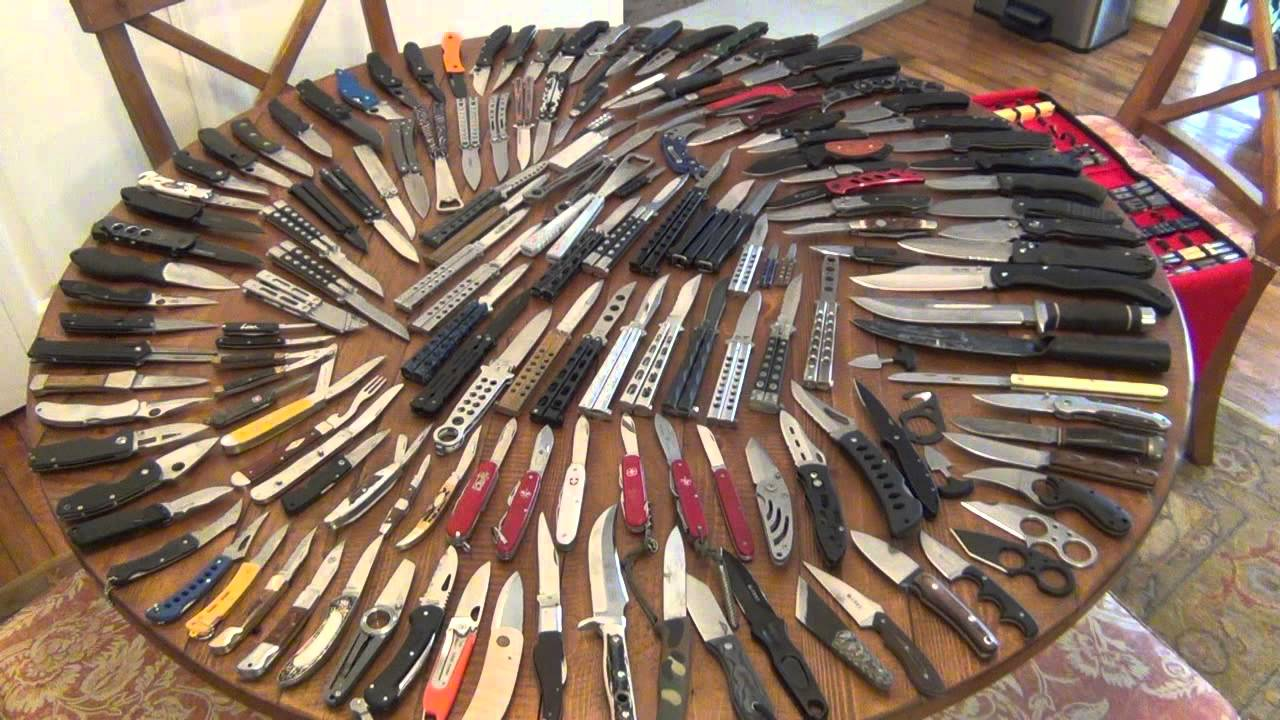 Knife Collection Update   March 2013   YouTube