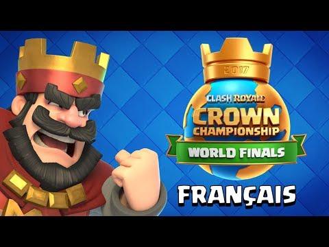 En direct live : finale des mondiaux de la Crown Championship Clash Royale 2017 !