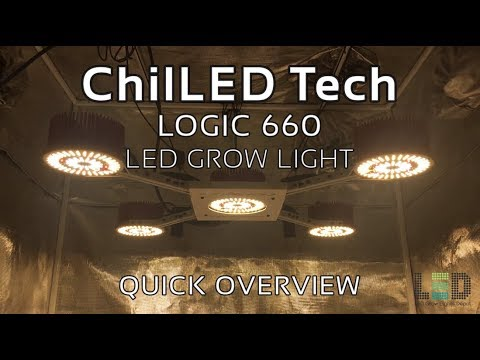 ChilLED Logic 660 LED Grow Light - Quick Overview