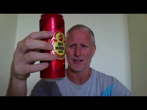 1 Dollar Filipino Beer | The Brew Review | Red Horse