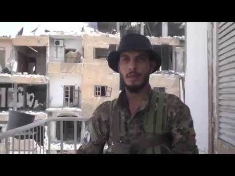 New video of YPG in Raqqa