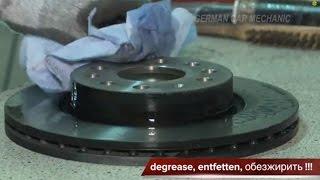 видео Когда менять тормозные колодки, советы и рекомендации