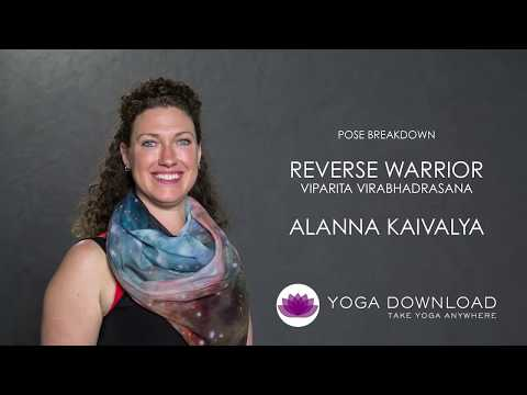 Reverse Warrior (Viparita Virabhadrasana) Yoga Pose Guide Tutorial