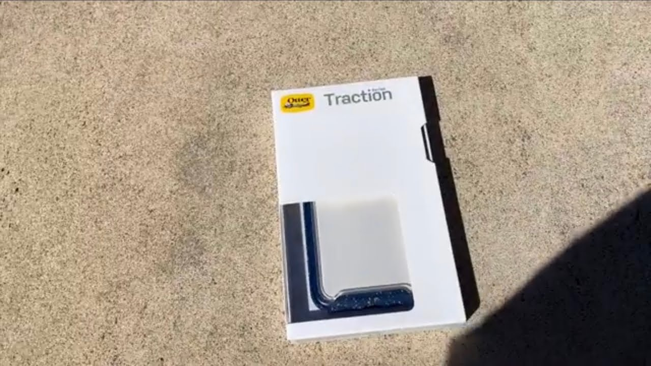 low priced 01d79 cb8a3 Otterbox Traction Series case for iPhone XS unboxing & review