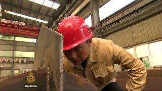 China economy: Uncertain future for steel industry
