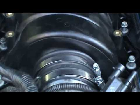 how to change 2005 cadillac sts intake manifold part 1