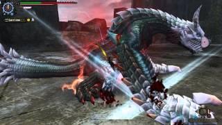 【MHF-G】赤き氷狐竜の厄災を双剣で【赤昂】 thumbnail