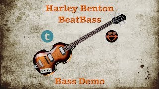 Harley Benton BeatBass VS - [Bass Demo]