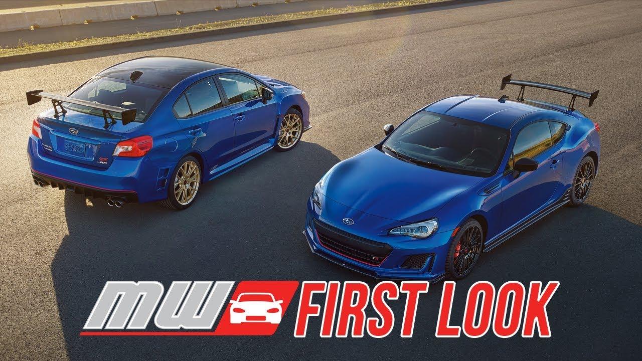 Brz Vs Wrx >> 2018 Subaru Sti Ra And Brz Ts First Drive