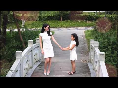 MOTHER AND DAUGHTER DRESS UP CHEONGSAM KFCNY0225