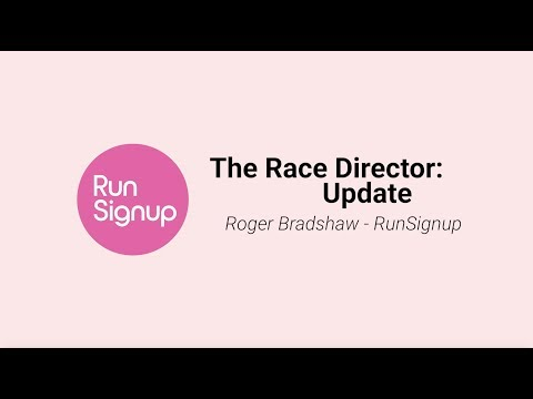 Timer Day: The Race Director: Update