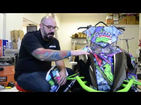 How To Install The Trickiest Wrap Pieces Ever - Arctic Cat Proclimb Nose