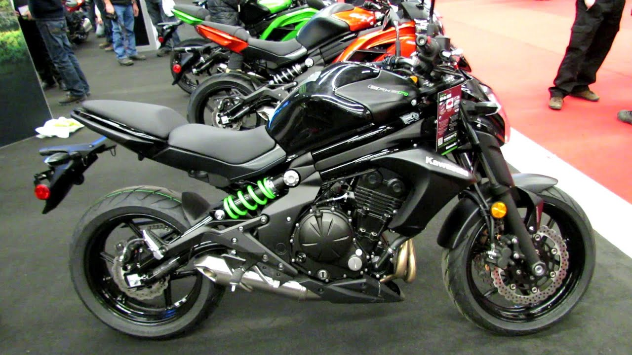 2014 kawasaki er 6n abs walkaround 2014 montreal motorcycle show youtube. Black Bedroom Furniture Sets. Home Design Ideas