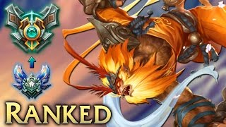 Diamond Ranked Wukong Jungle - League of Legends Commentary