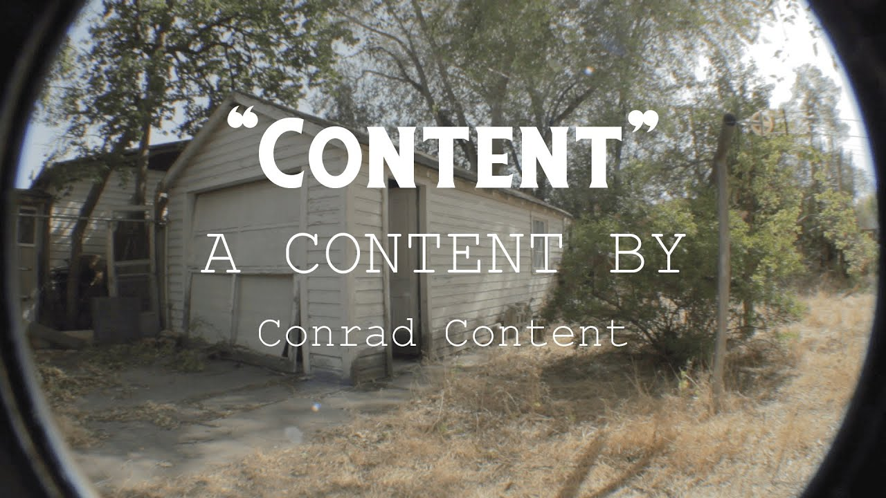 Content: A Content By Conrad Content   My RØDE Reel 2020