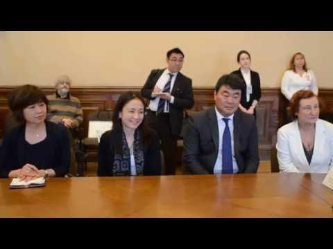 Эрмитаж и Nippon Television Network Corporation подписали Соглашение (2)
