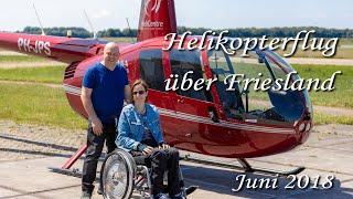 Mit Dem Rollstuhl Im Helikopter über Friesland Zeitraffer