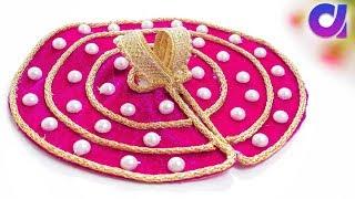 How to make bal gopal dress | laddu gopal | Poshak making | Easy tutorial | Artkala