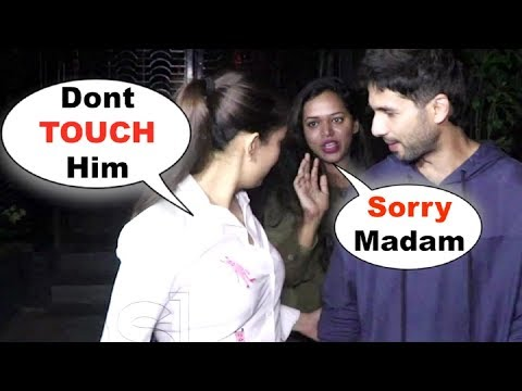 Mira Rajput Gets POSSESSIVE When Female Fan Touches Shahid Kapoor