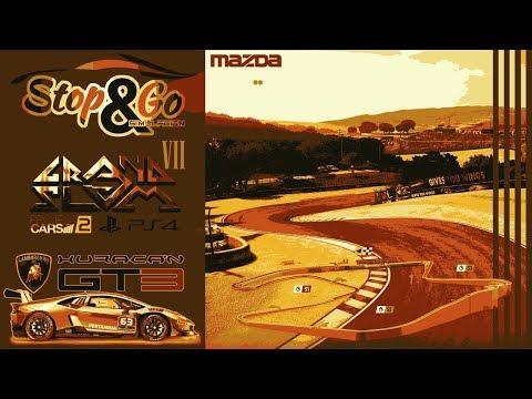 [S&G] VII Grand Slam // GR-B  #3/5 Laguna Seca - Huracan GT3 // Project CARS 2 - Ps4