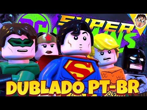 LEGO DC Super Villains - O Início, Em Português (Gameplay PT-BR DUBLADO)