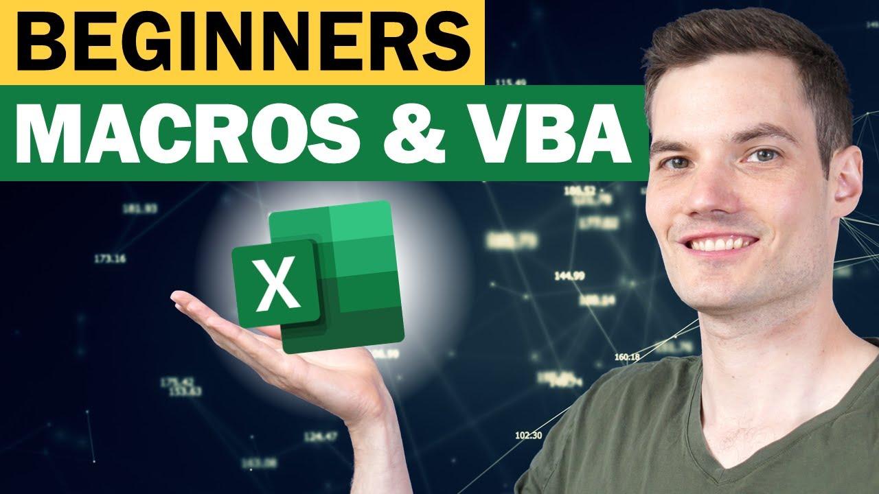 Download Excel Macros & VBA - Beginners Tutorial