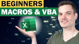 Excel Macros & VBA  Beginners Tutorial