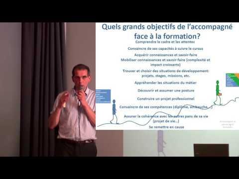 Rencontres professionnelles sur l'accompagnement : Yann SERREAU - Questions sur l'accompagnement