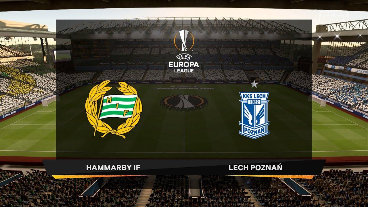 Hammarby IF vs Lech Poznań | UEFA Europa League 2020-2021 ...