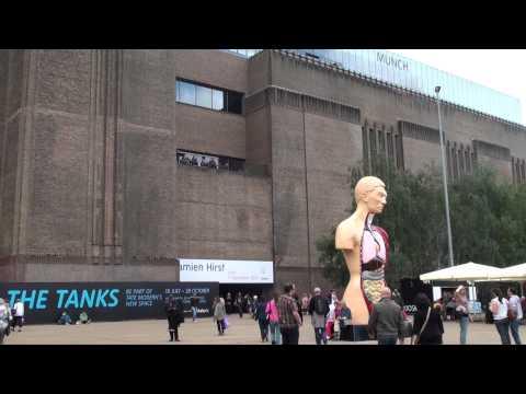 London - Tate Modern Art Gallery (Full HD)