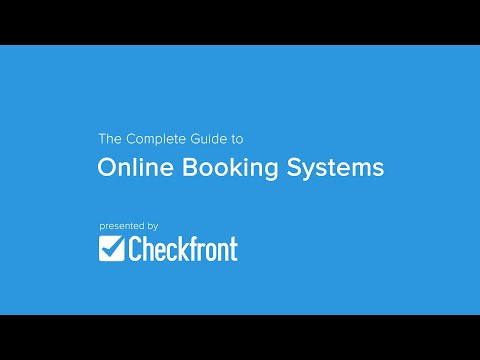 Best practice online booking system