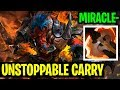 Unstoppable Carry - Miracle- Troll Warlord - Dota 2
