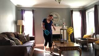 Clean With Me / Living Room/Dining Room Weekly Deep Cleaning Routine