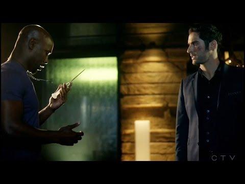 Lucifer 2x17 Ending Lucifer & Amenadiel Season 2 Episode 17