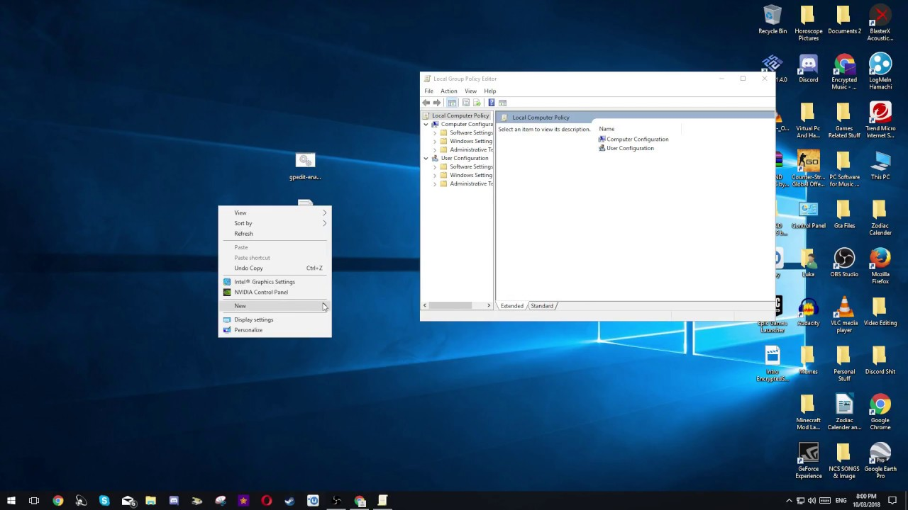 How to install GPedit on Windows 10 VERY EASY! SIMPLE & QUICK! TUTORIAL +  LINK